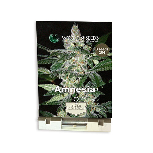 Cемена Amnesia World of Seeds Гроушоп AvingudaHaze